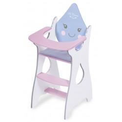 Chaise Haute pour Poupées en Bois Martín De Cuevas Toys 55429