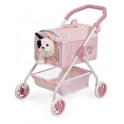 Poussette pour Poupées Ma Première Poussette Petits Animaux Little Pet De Cuevas Toys 86139