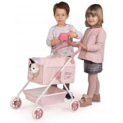 Poussette pour Poupées Ma Première Poussette Petits Animaux Little Pet De Cuevas Toys 86139 | De Cuevas Toys