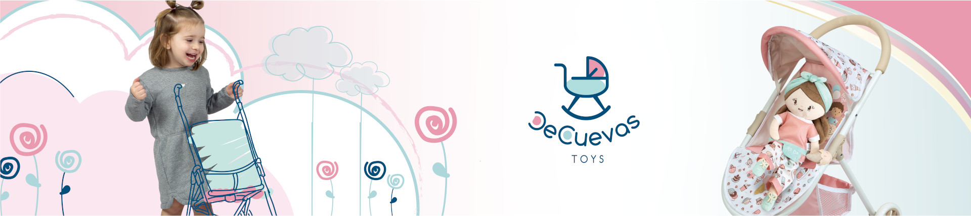 Poussettes pour poupées | De Cuevas Toys