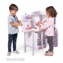 Armoire en Bois Table à Langer pour Poupées Sky DeCuevas Toys 54835 | DeCuevas Toys