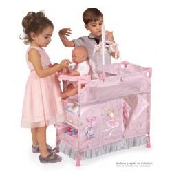 Armoire Table à Langer de Poupées Pliable Magic María De Cuevas Toys 53034 | De Cuevas Toys
