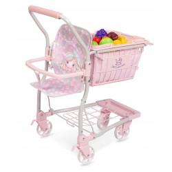 Chariot avec porte-bébé Ocean Fantasy DeCuevas Toys 52141