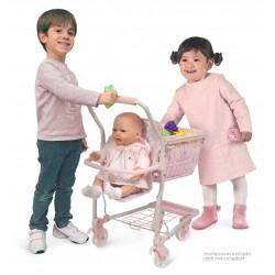 Chariot avec porte-bébé Ocean Fantasy DeCuevas Toys 52141 | DeCuevas Toys